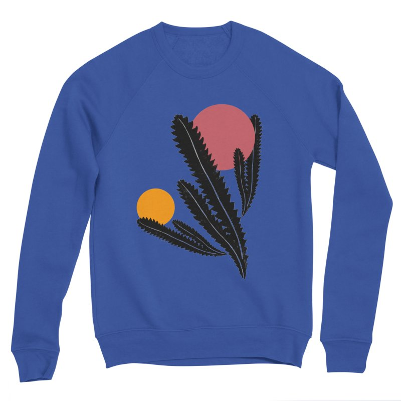 Prickly Plant Men's Sweatshirt by sustici's Artist Shop