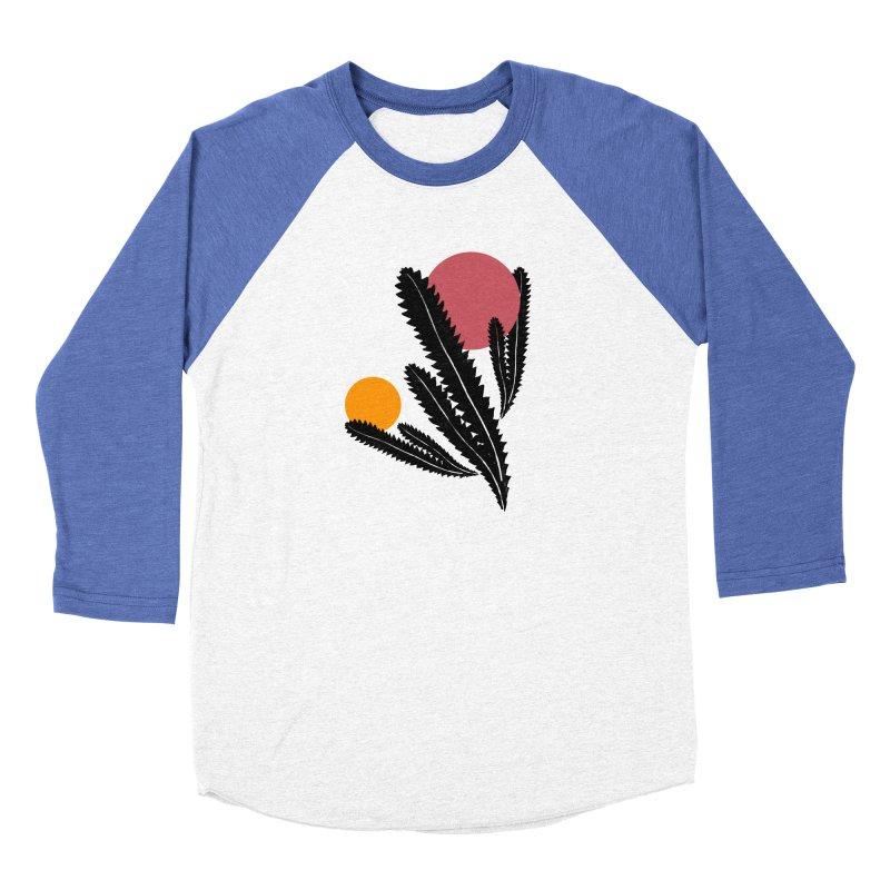 Prickly Plant Women's Baseball Triblend Longsleeve T-Shirt by sustici's Artist Shop