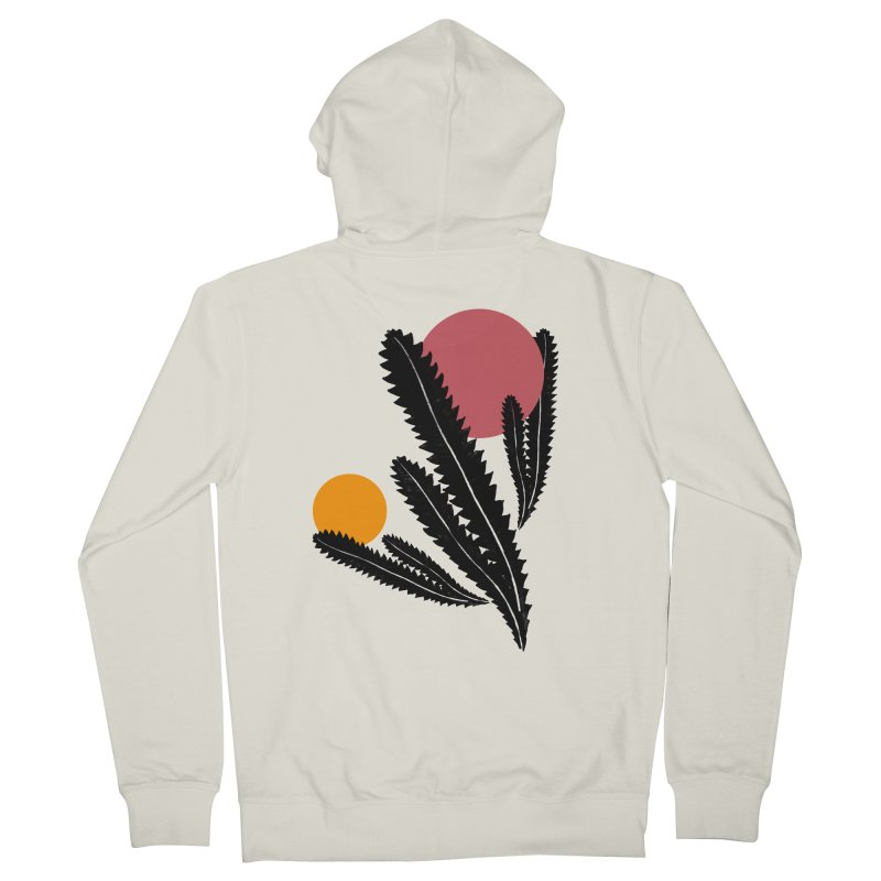 Prickly Plant Women's French Terry Zip-Up Hoody by sustici's Artist Shop