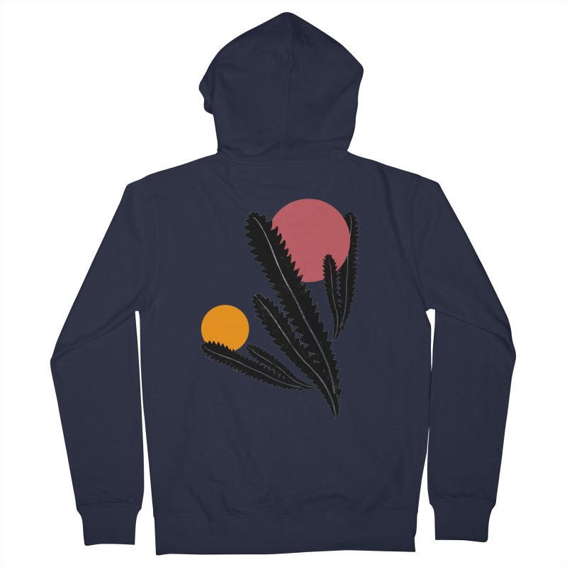 Prickly Plant Men's Zip-Up Hoody by sustici's Artist Shop