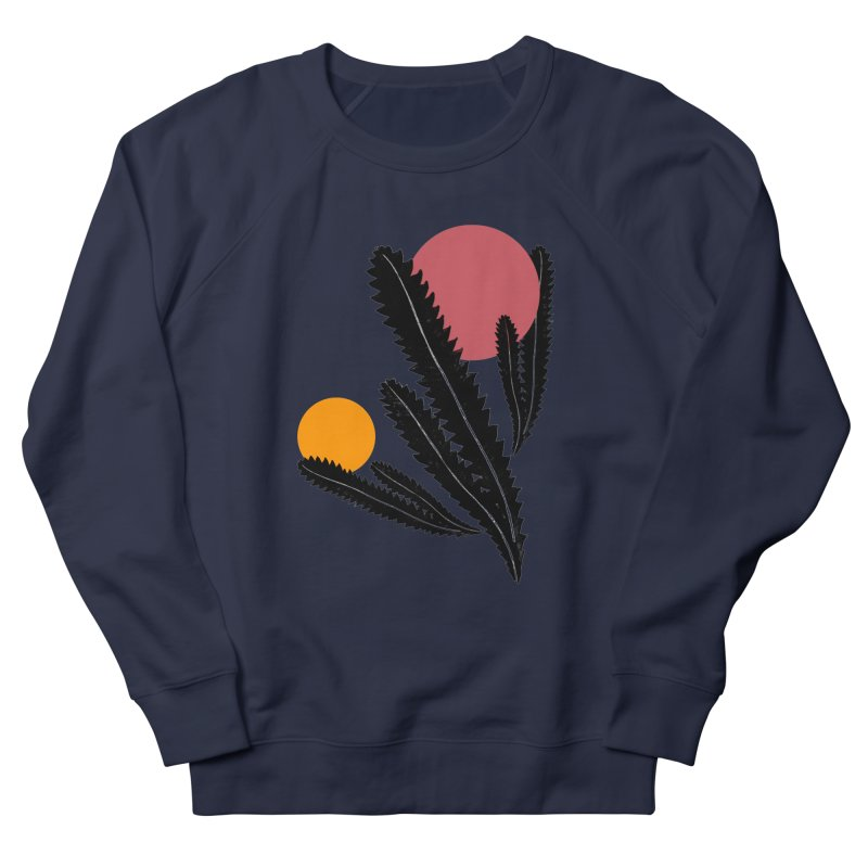 Prickly Plant Men's French Terry Sweatshirt by sustici's Artist Shop