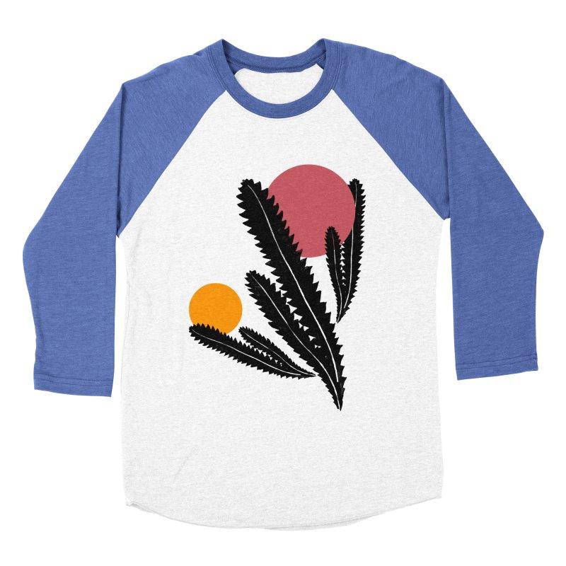 Prickly Plant Men's Baseball Triblend Longsleeve T-Shirt by sustici's Artist Shop