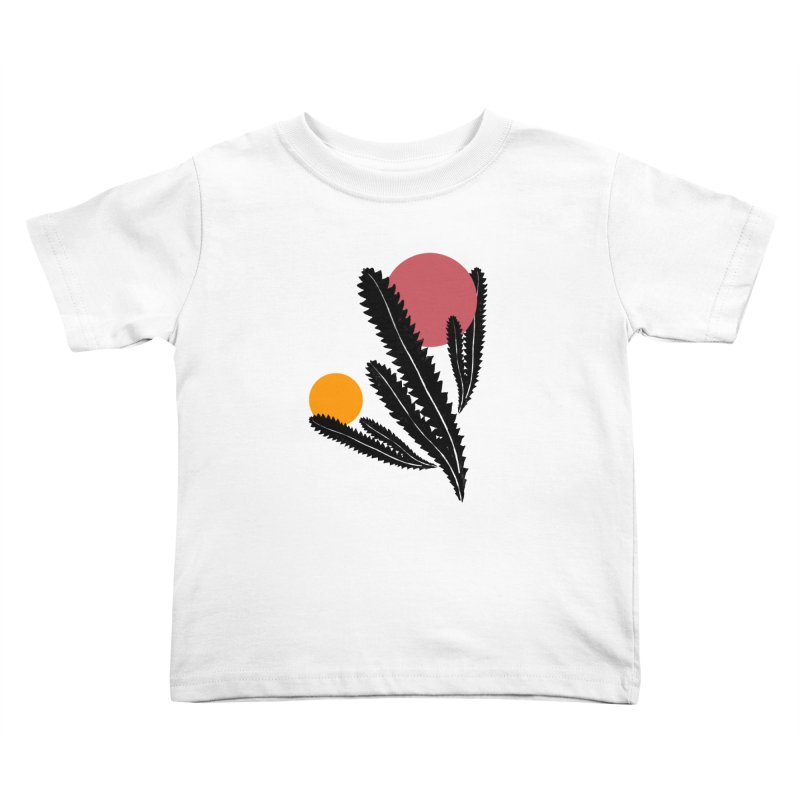 Prickly Plant Kids Toddler T-Shirt by sustici's Artist Shop