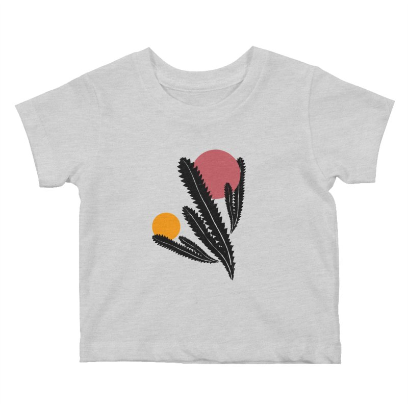 Prickly Plant Kids Baby T-Shirt by sustici's Artist Shop