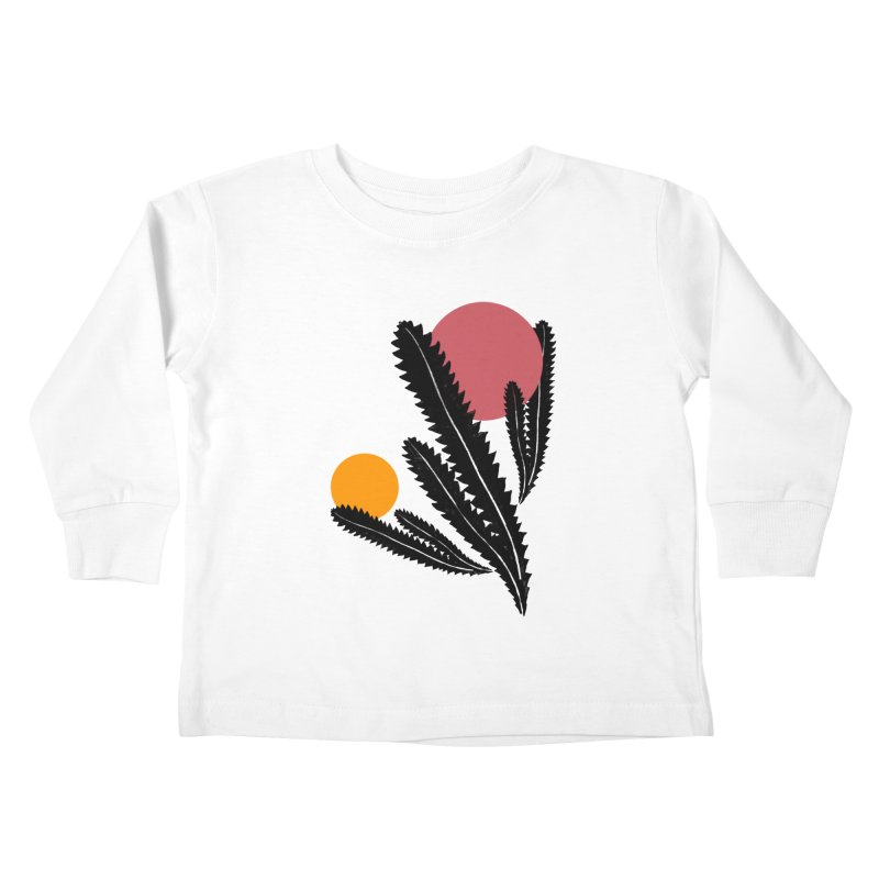 Prickly Plant Kids Toddler Longsleeve T-Shirt by sustici's Artist Shop