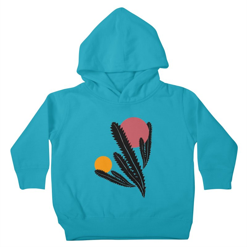 Prickly Plant Kids Toddler Pullover Hoody by sustici's Artist Shop