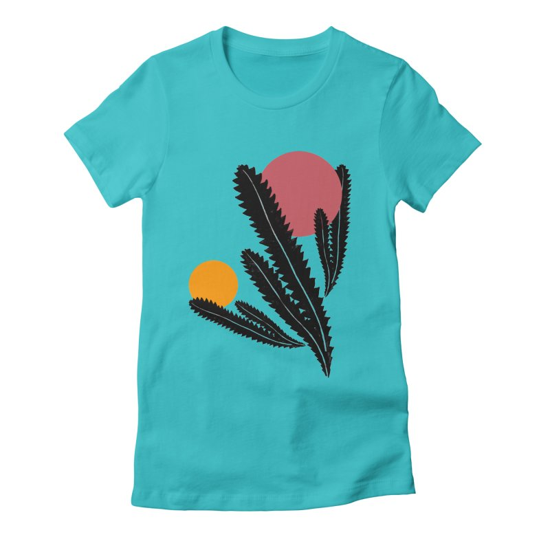 Prickly Plant Women's T-Shirt by sustici's Artist Shop