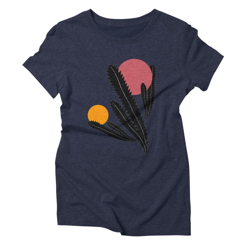 Prickly Plant Women's Triblend T-Shirt by sustici's Artist Shop
