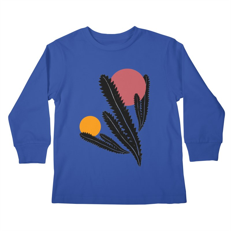 Prickly Plant Kids Longsleeve T-Shirt by sustici's Artist Shop