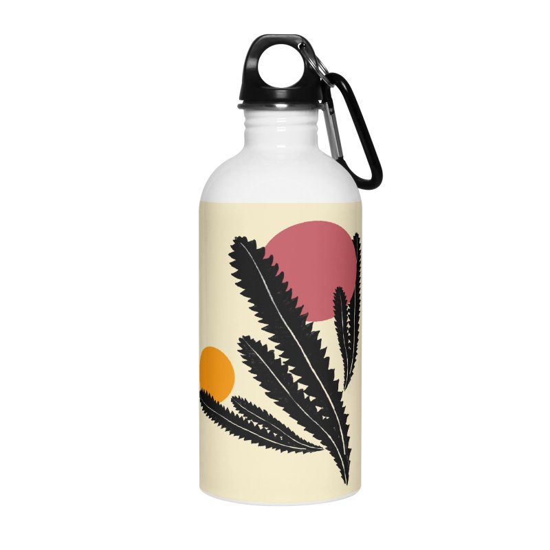 Prickly Plant Accessories Water Bottle by sustici's Artist Shop