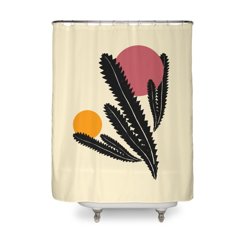 Prickly Plant Home Shower Curtain by sustici's Artist Shop