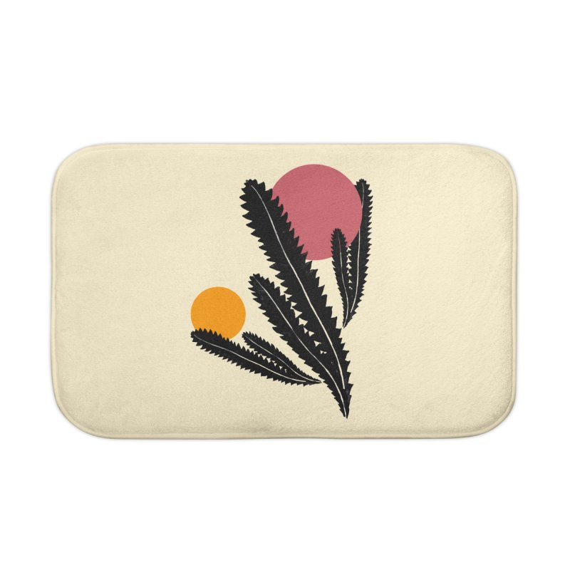 Prickly Plant Home Bath Mat by sustici's Artist Shop
