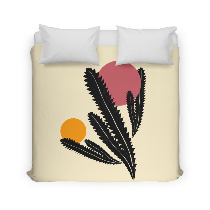 Prickly Plant Home Duvet by sustici's Artist Shop