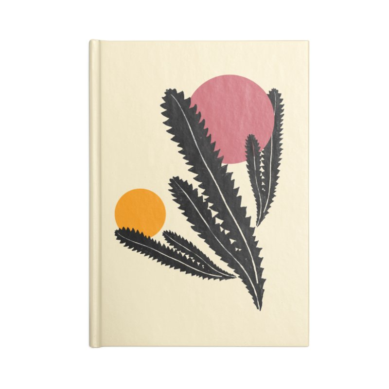 Prickly Plant Accessories Lined Journal Notebook by sustici's Artist Shop