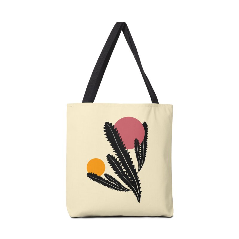 Prickly Plant Accessories Bag by sustici's Artist Shop