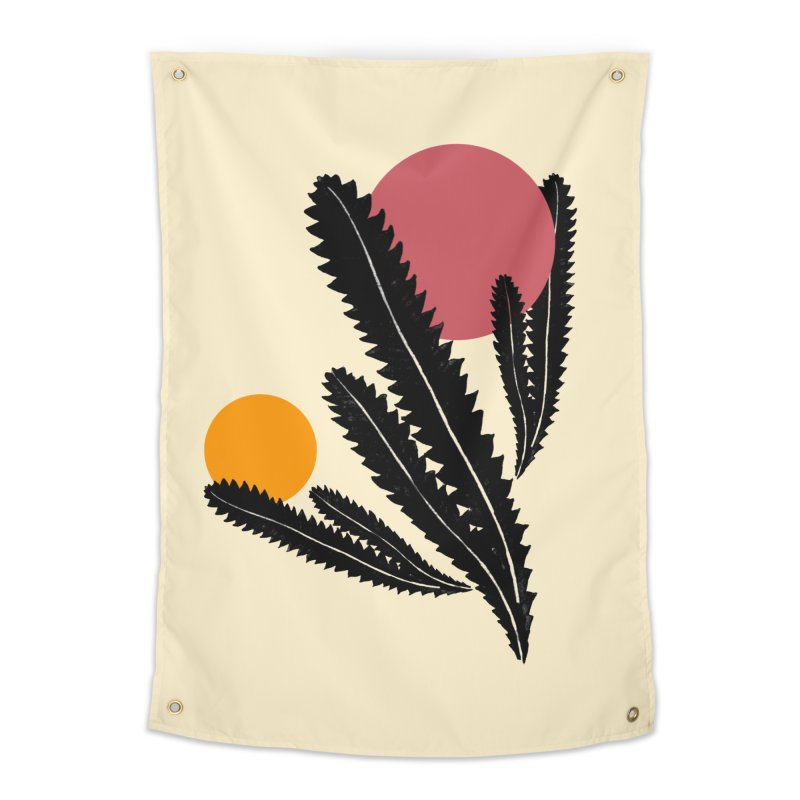 Prickly Plant Home Tapestry by sustici's Artist Shop