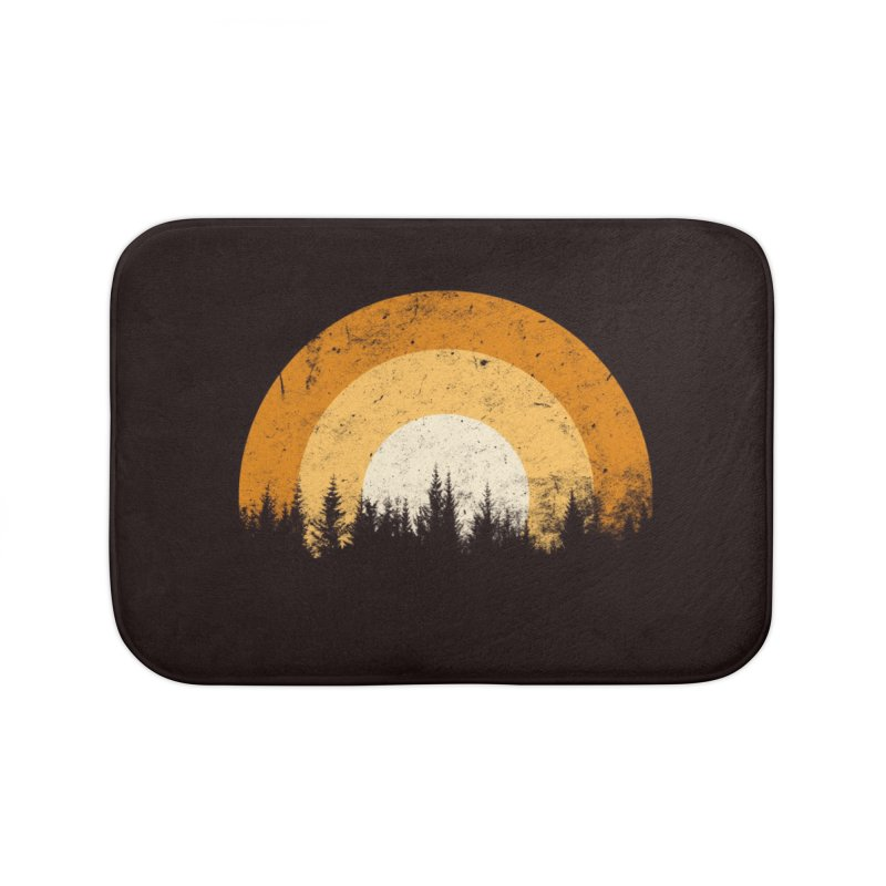 WARM FOREST Home Bath Mat by sustici's Artist Shop