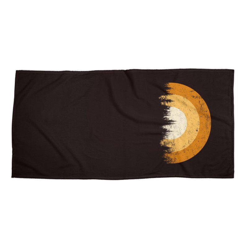 WARM FOREST Accessories Beach Towel by sustici's Artist Shop