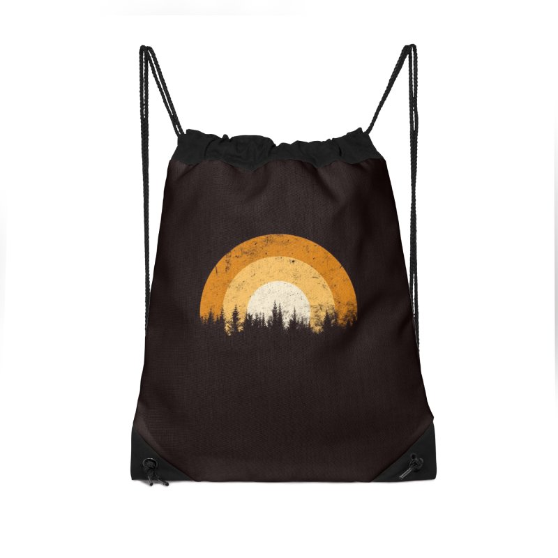 WARM FOREST Accessories Drawstring Bag Bag by sustici's Artist Shop