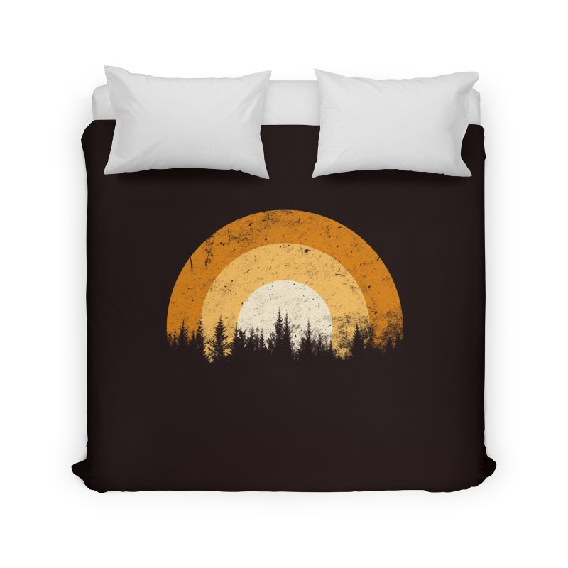 WARM FOREST Home Duvet by sustici's Artist Shop