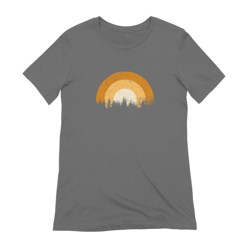 WARM FOREST Women's T-Shirt by sustici's Artist Shop