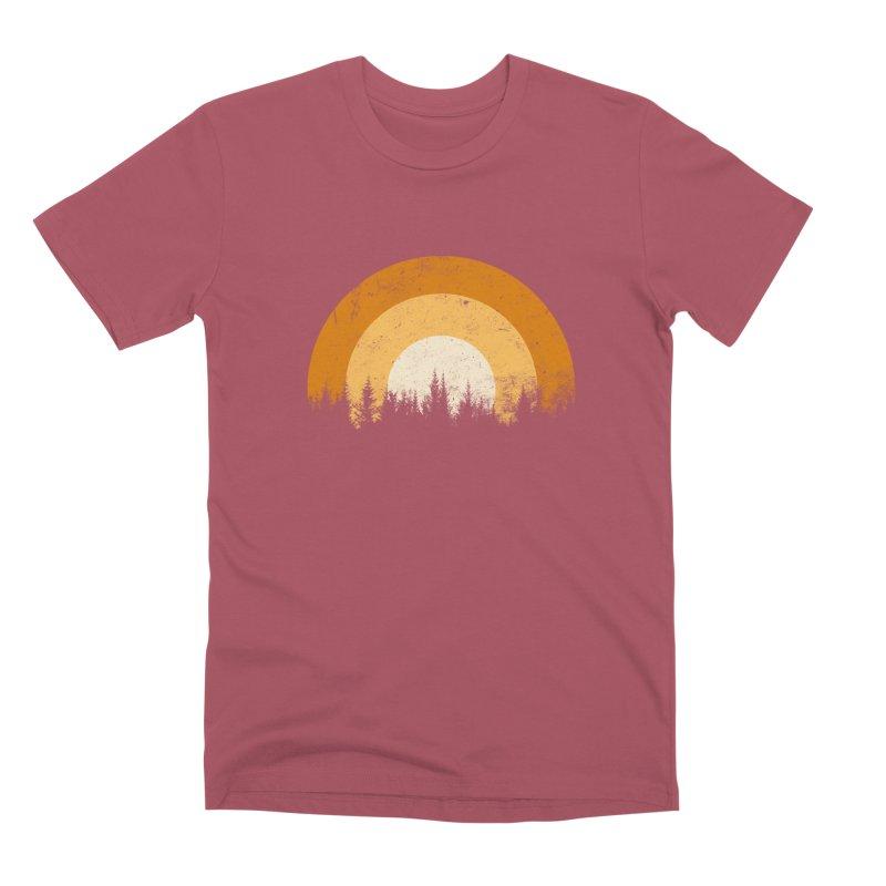 WARM FOREST Men's Premium T-Shirt by sustici's Artist Shop