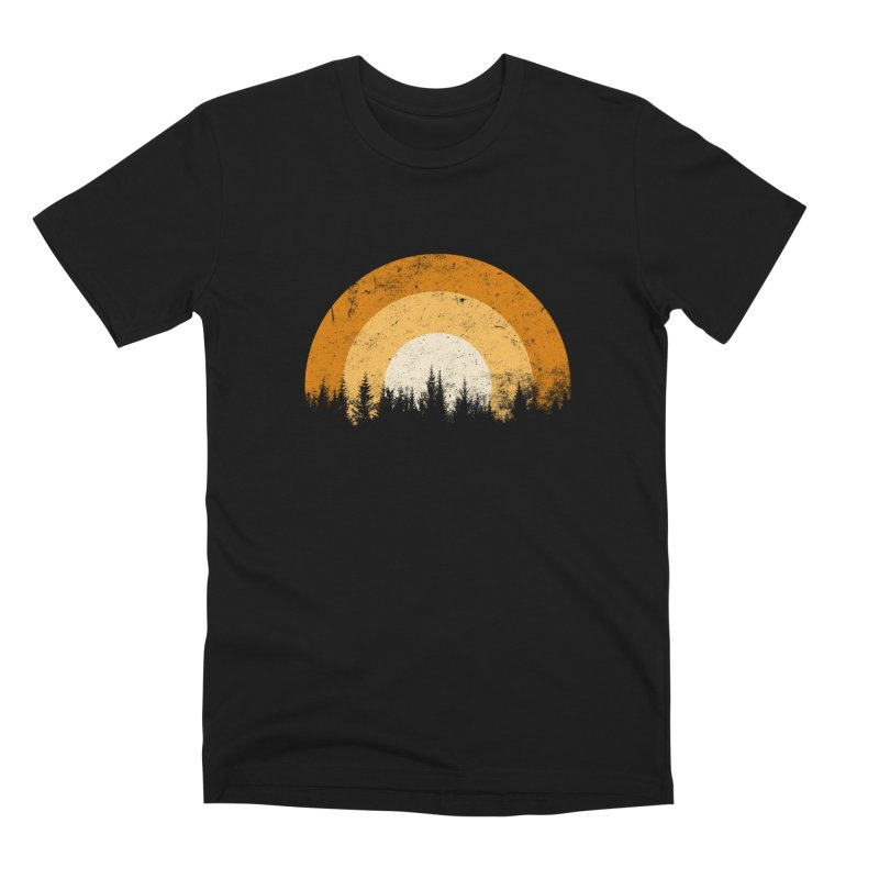 WARM FOREST Men's Premium T-Shirt by sustici's Artist Shop