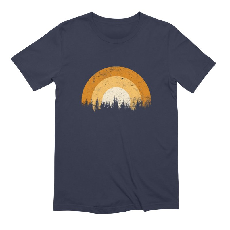 WARM FOREST Men's Extra Soft T-Shirt by sustici's Artist Shop