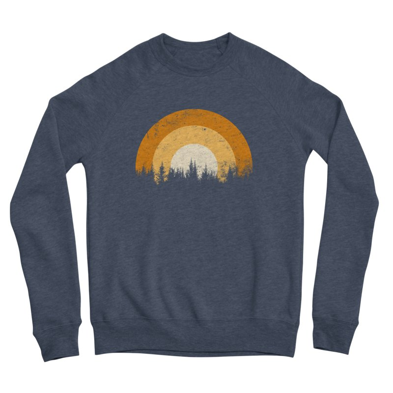 WARM FOREST Women's Sponge Fleece Sweatshirt by sustici's Artist Shop