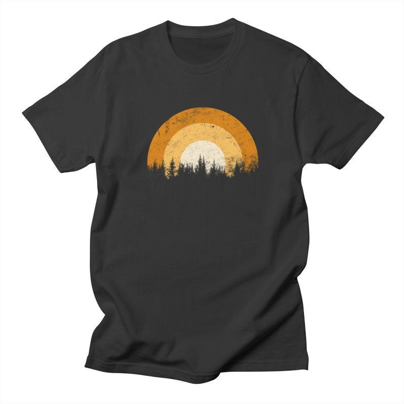 WARM FOREST Men's T-Shirt by sustici's Artist Shop
