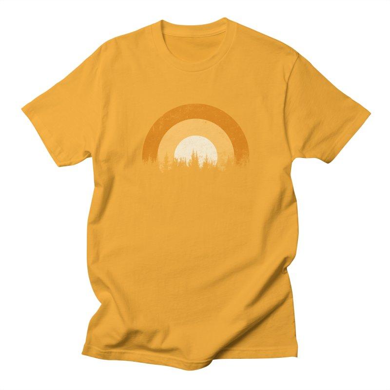 WARM FOREST Men's T-Shirt by sustici's Artist Shop