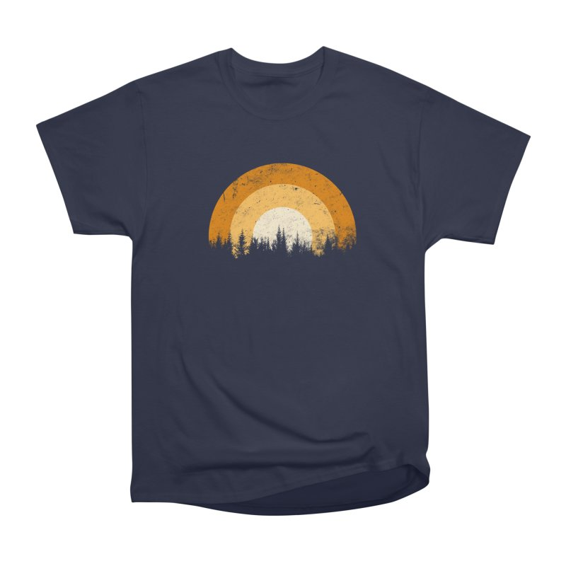WARM FOREST Women's Heavyweight Unisex T-Shirt by sustici's Artist Shop