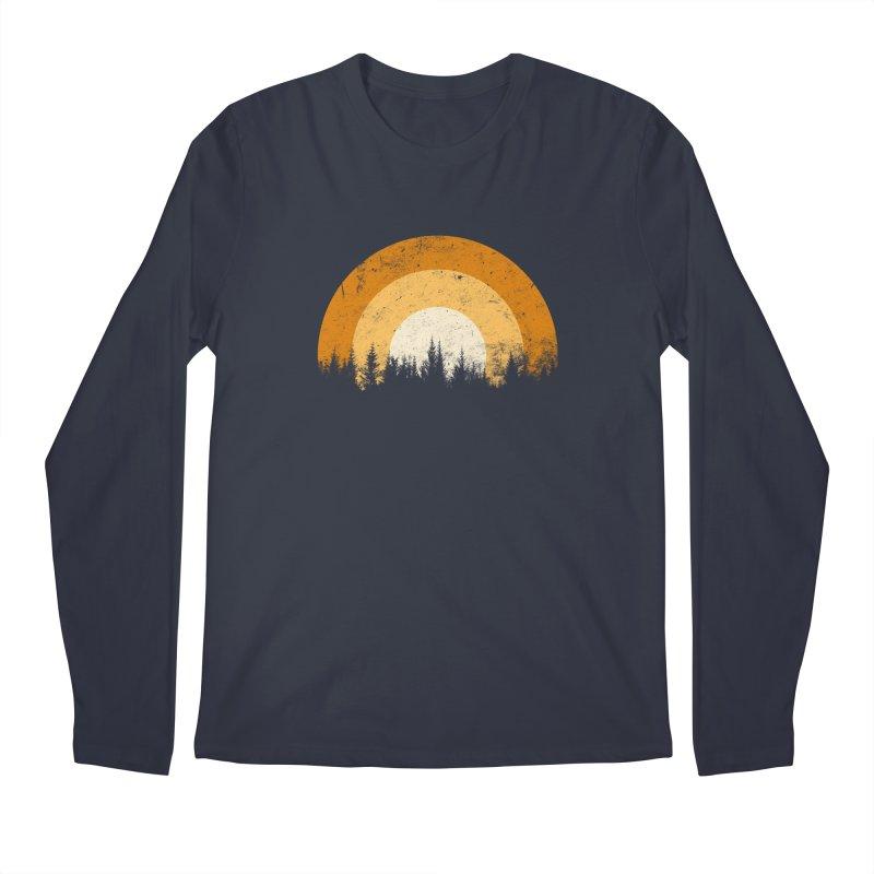 WARM FOREST Men's Regular Longsleeve T-Shirt by sustici's Artist Shop