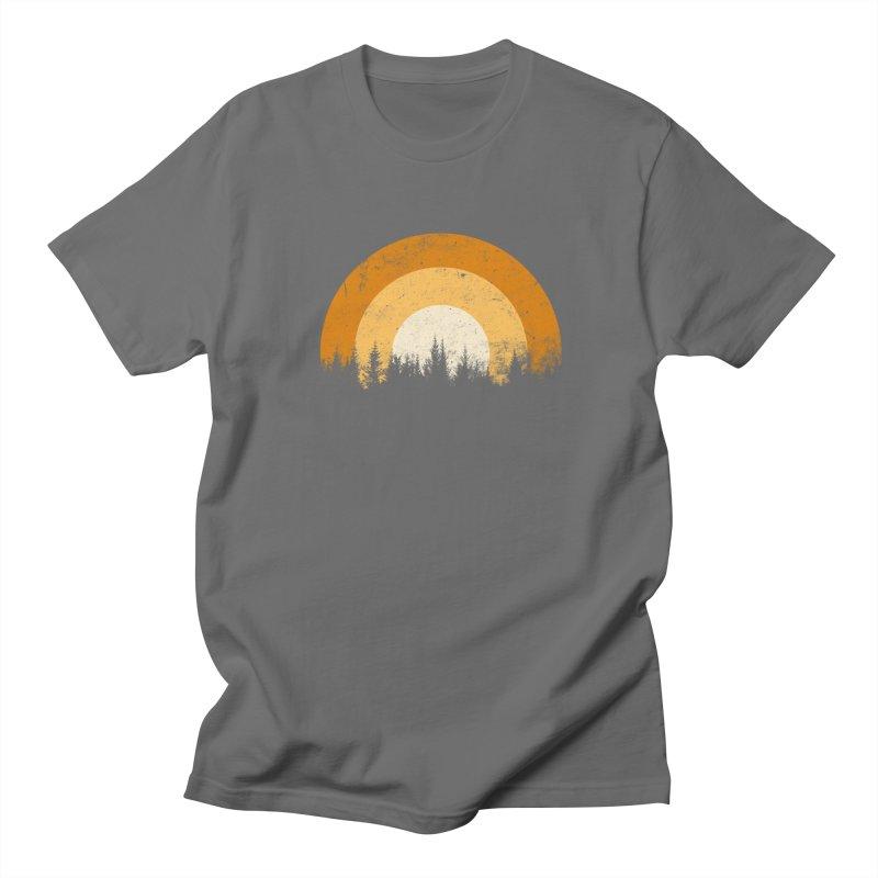 WARM FOREST Men's Regular T-Shirt by sustici's Artist Shop