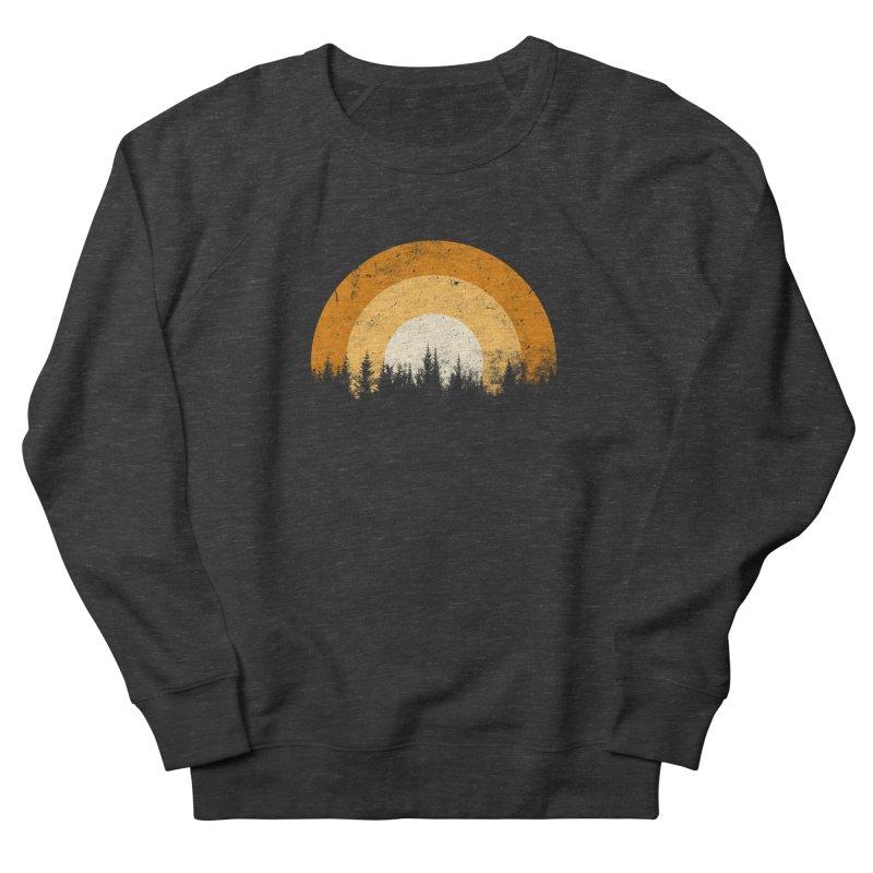 WARM FOREST Women's French Terry Sweatshirt by sustici's Artist Shop