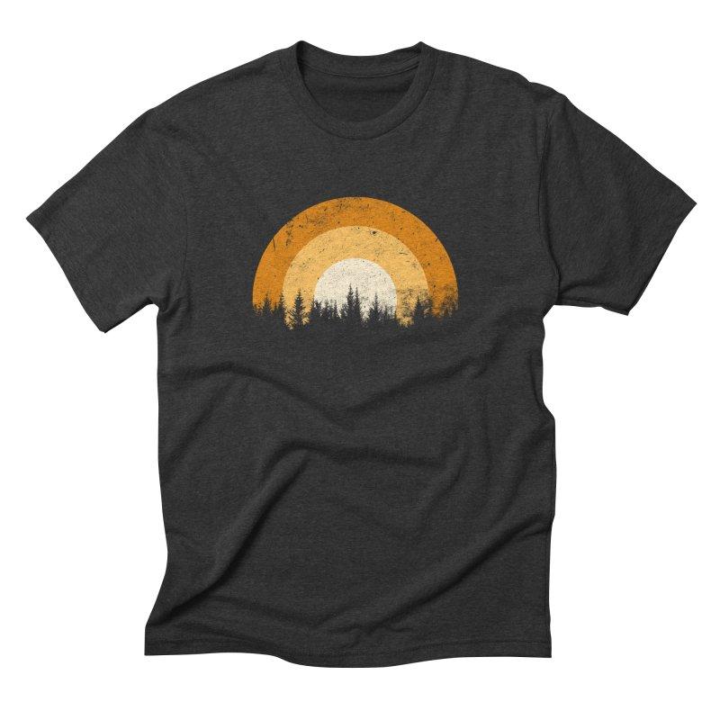 WARM FOREST Men's Triblend T-Shirt by sustici's Artist Shop