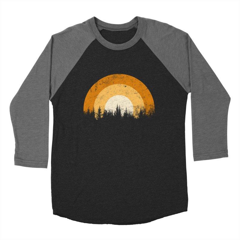 WARM FOREST Women's Baseball Triblend Longsleeve T-Shirt by sustici's Artist Shop