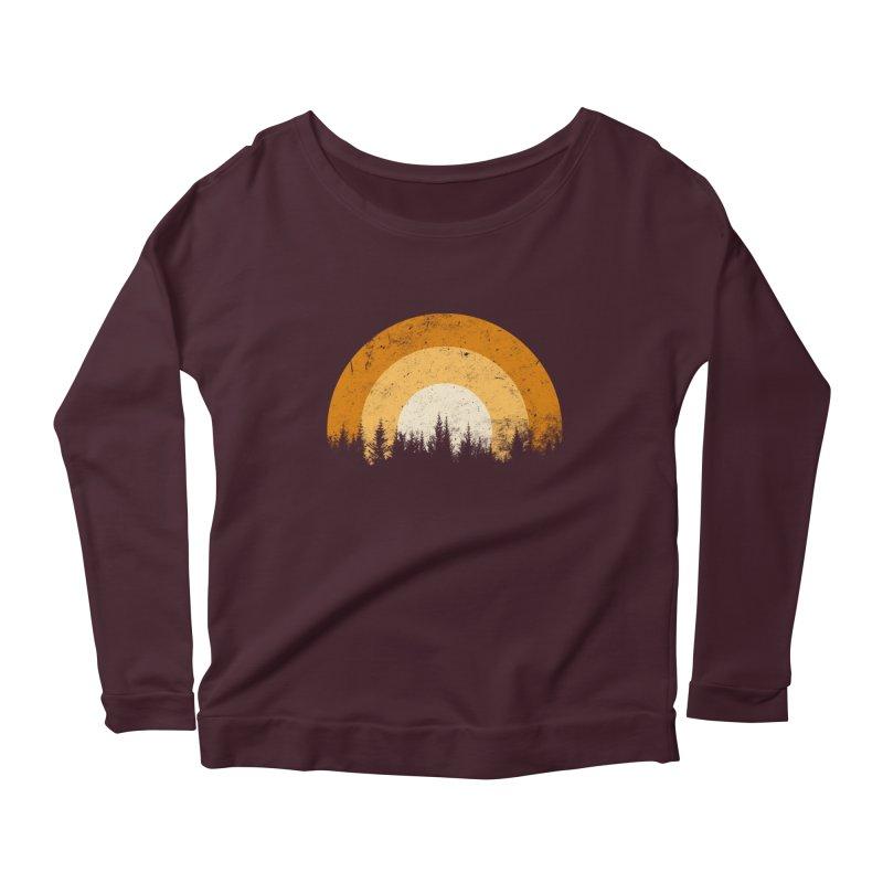 WARM FOREST Women's Longsleeve T-Shirt by sustici's Artist Shop