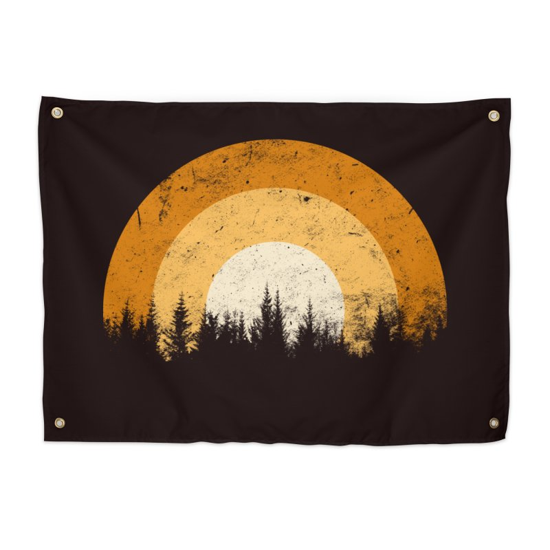 WARM FOREST Home Tapestry by sustici's Artist Shop