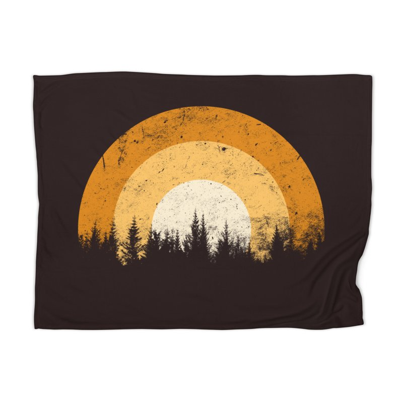 WARM FOREST Home Blanket by sustici's Artist Shop