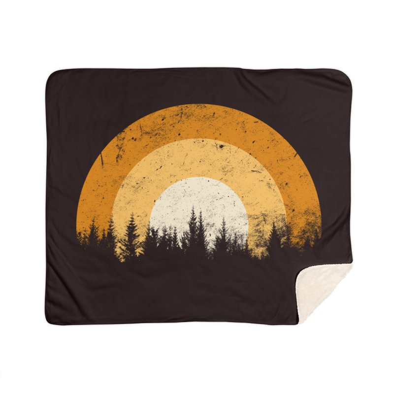 WARM FOREST Home Sherpa Blanket Blanket by sustici's Artist Shop
