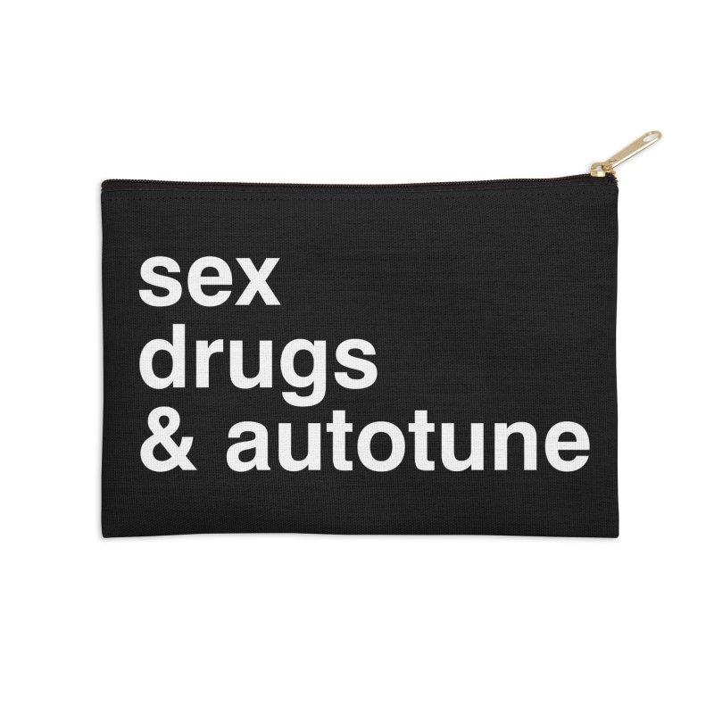 sex, drugs & autotune Accessories Zip Pouch by sustici's Artist Shop