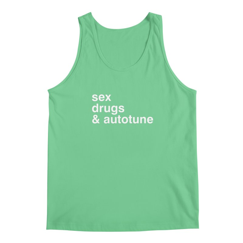 sex, drugs & autotune Men's Regular Tank by sustici's Artist Shop