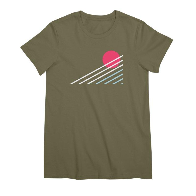 seaside77 Women's Premium T-Shirt by sustici's Artist Shop