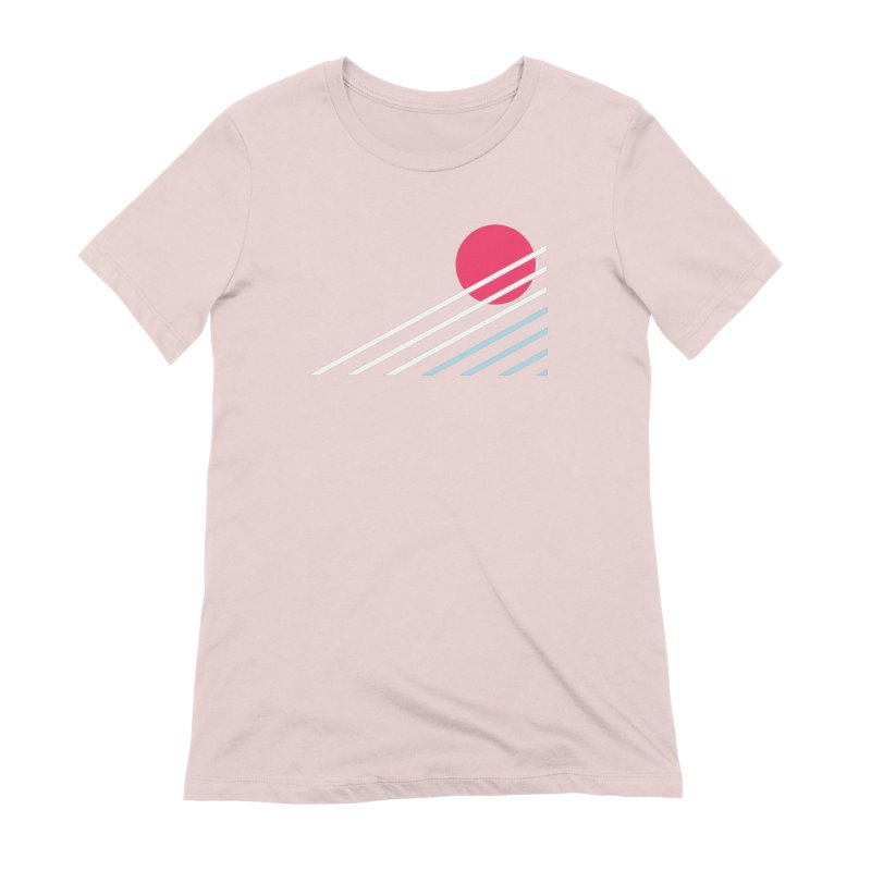 seaside77 Women's Extra Soft T-Shirt by sustici's Artist Shop