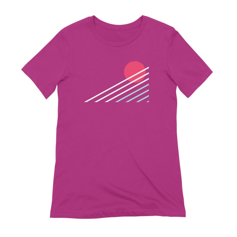 seaside77 Women's T-Shirt by sustici's Artist Shop