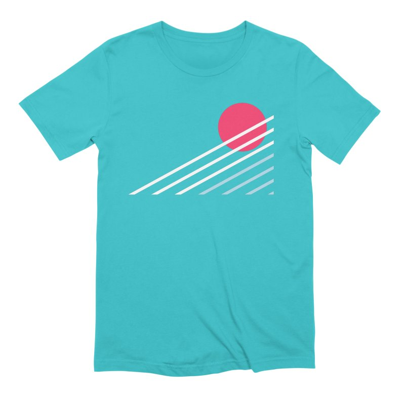 seaside77 Men's Extra Soft T-Shirt by sustici's Artist Shop