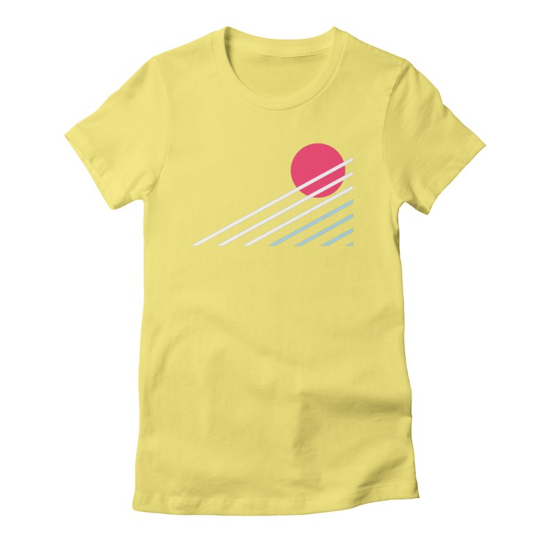 seaside77 Women's Fitted T-Shirt by sustici's Artist Shop