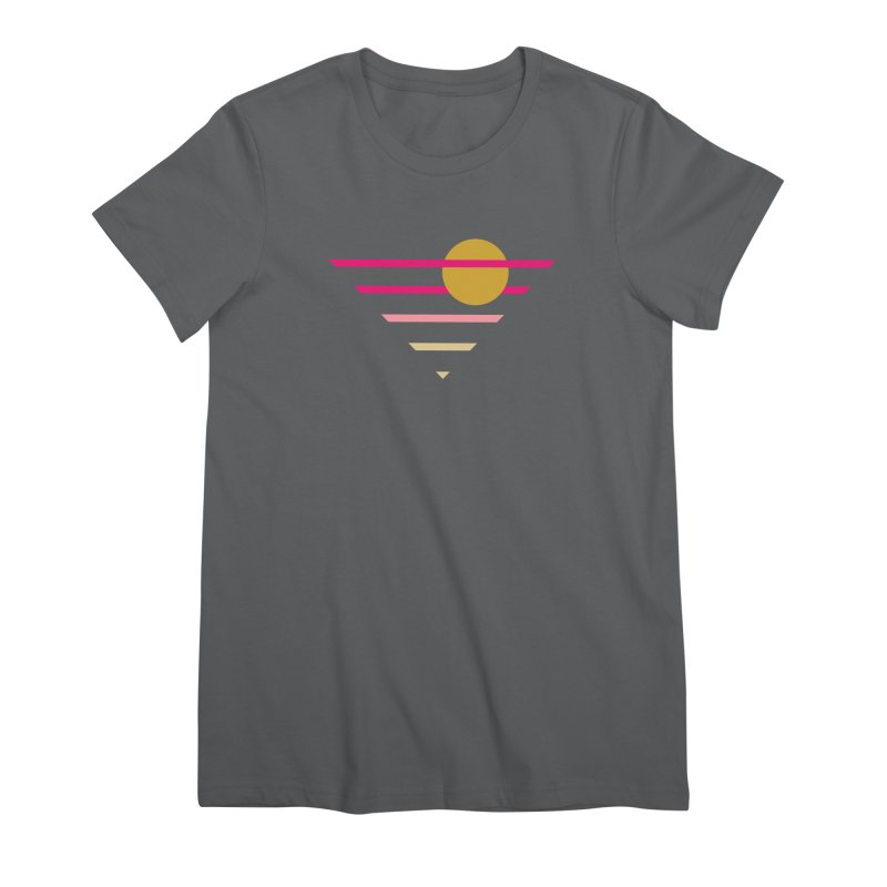 tequila sunrise Women's Premium T-Shirt by sustici's Artist Shop
