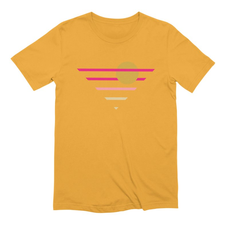 tequila sunrise Men's Extra Soft T-Shirt by sustici's Artist Shop